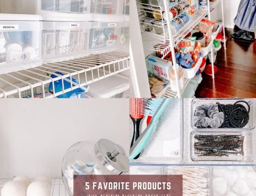 5 Home Products to Stay Organized