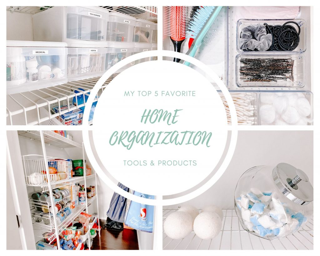 Organized home products title