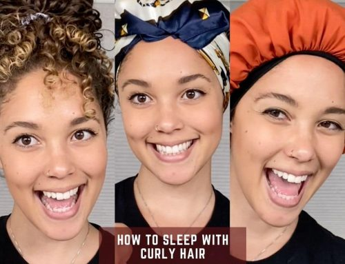 How To Sleep With Curly Hair