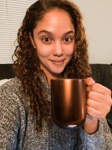 Erynne and copper ember mug