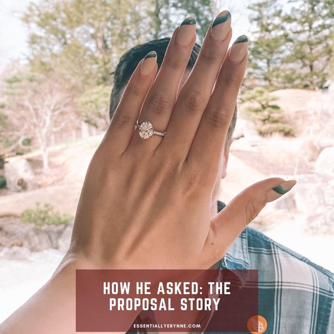 How He Asked : Our Love Story